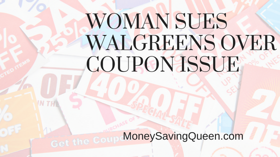 Woman Sues Walgreens